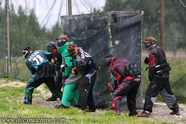 Paintball armor, 2014