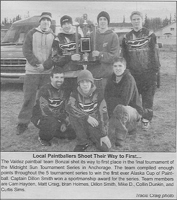 Valdez newspaper, 2003