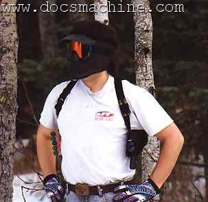 Crossdraw holster, 1999?