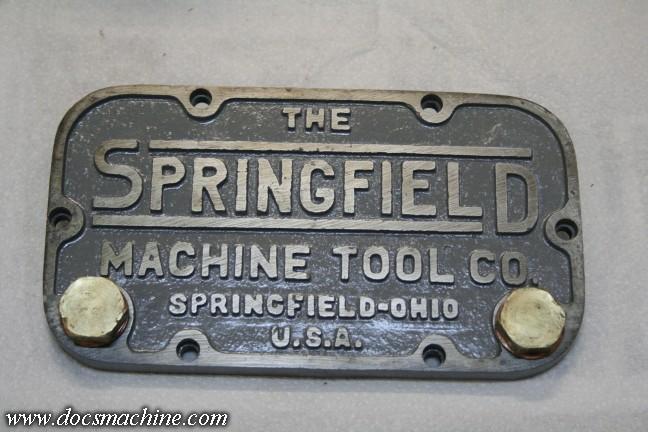 Springfield Lathe