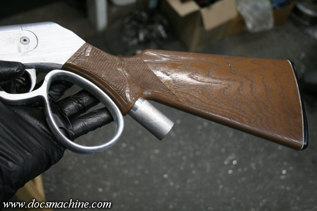 Making a Lever-Action Paintball Gun